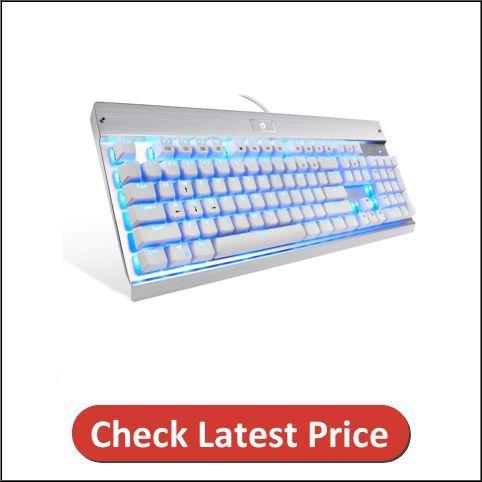 Eagletec KG011 Backlit Keyboard for Windows PC Office and Gaming