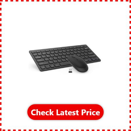 Jelly Comb Mini Wireless Keyboard with Mouse