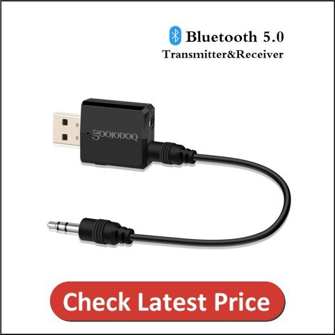 Bluetooth 5.0 audio transmitter-receiver for TV