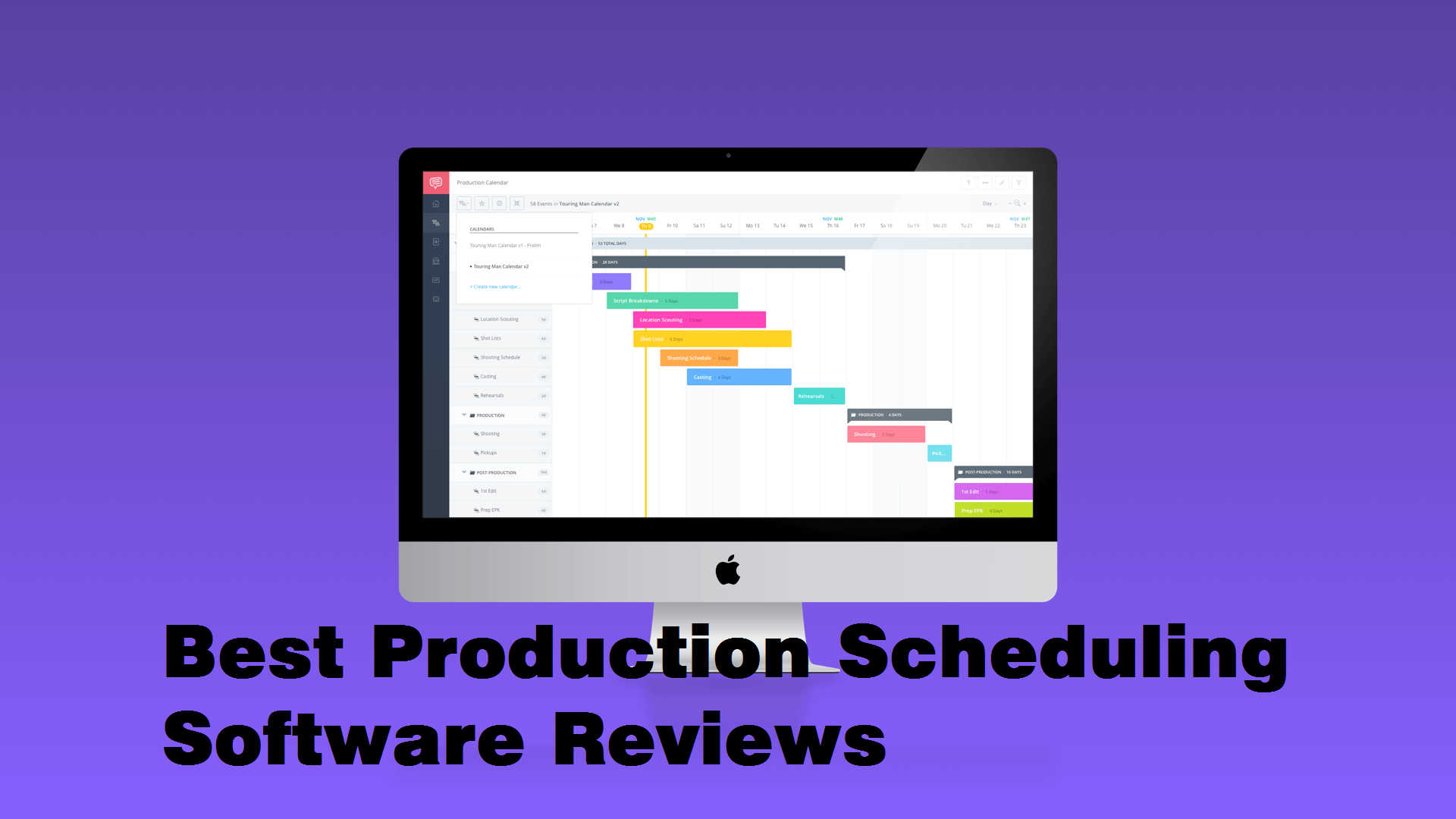 Best Production Scheduling Software Reviews