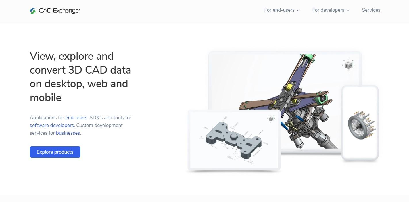 CAD Exchanger 3D File Converter