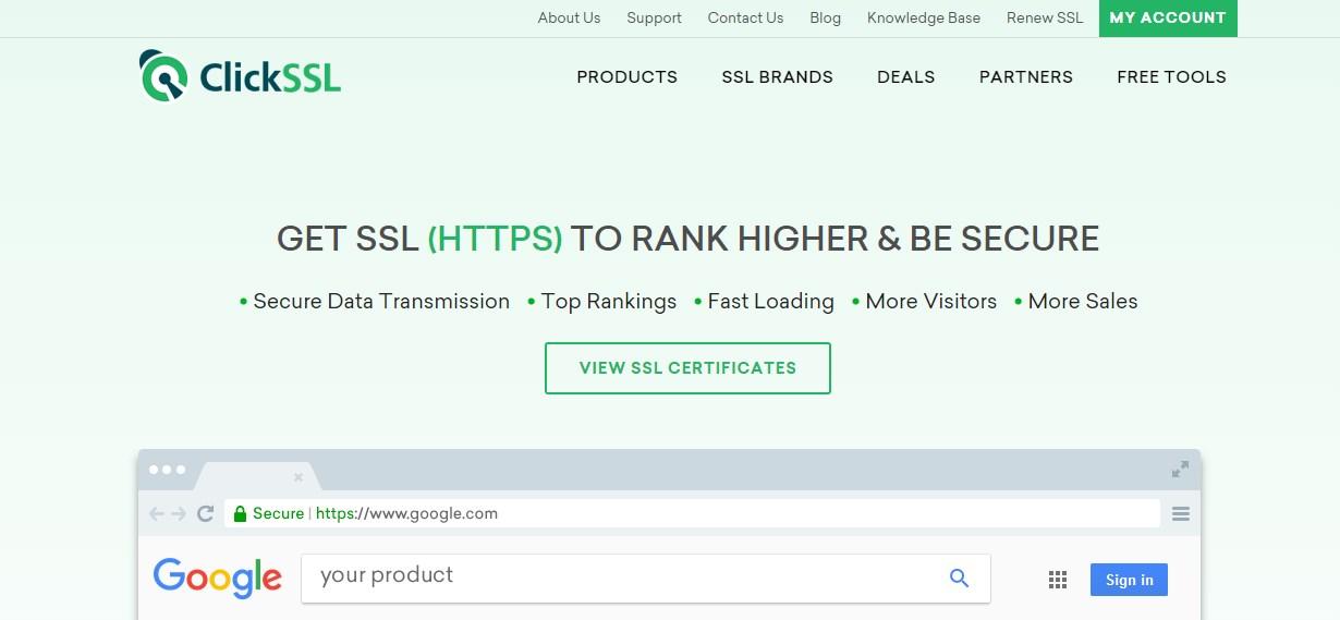ClickSSL Cheap SSL Certificate Provider