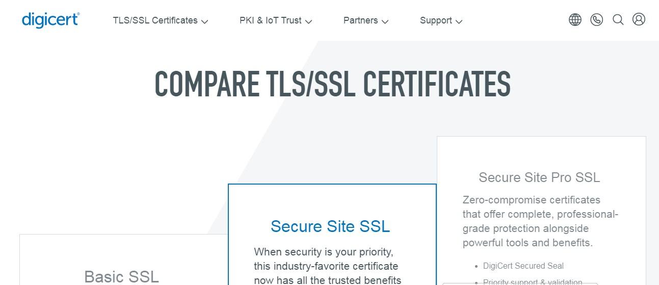 DigiCert SSL Certificate Provider