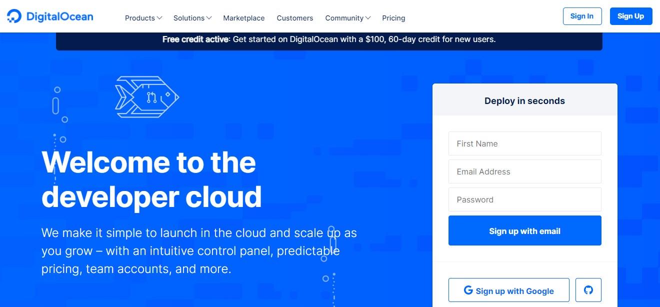 DigitalOcean Developer Cloud