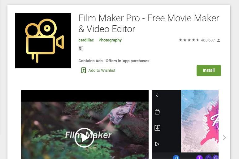 Film Maker Pro Video Editor