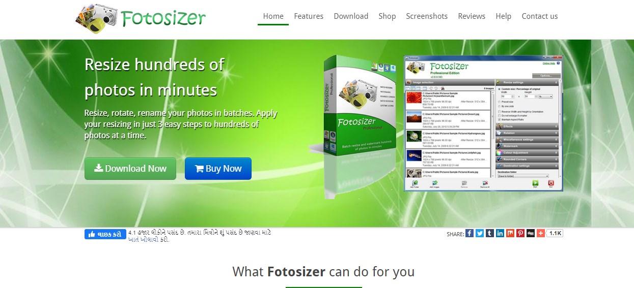 Fotoresizer Image Resizer