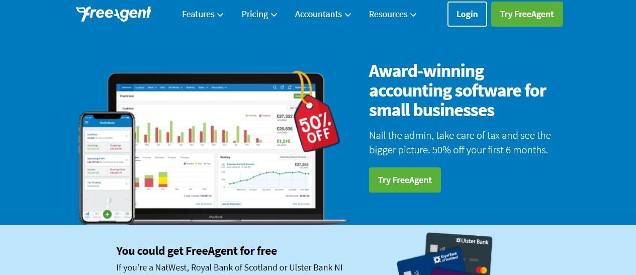 FreeAgent Invoicing Software