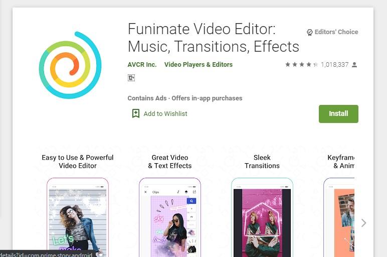 Funimate Video Editor