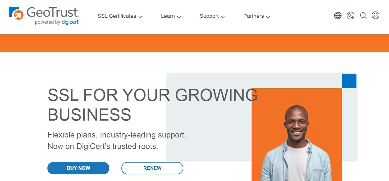 GeoTrust SSL Certificate Provider