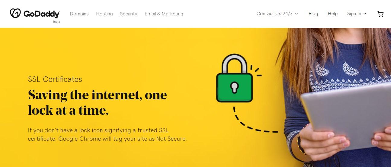 Godaddy SSL Certificate Provider