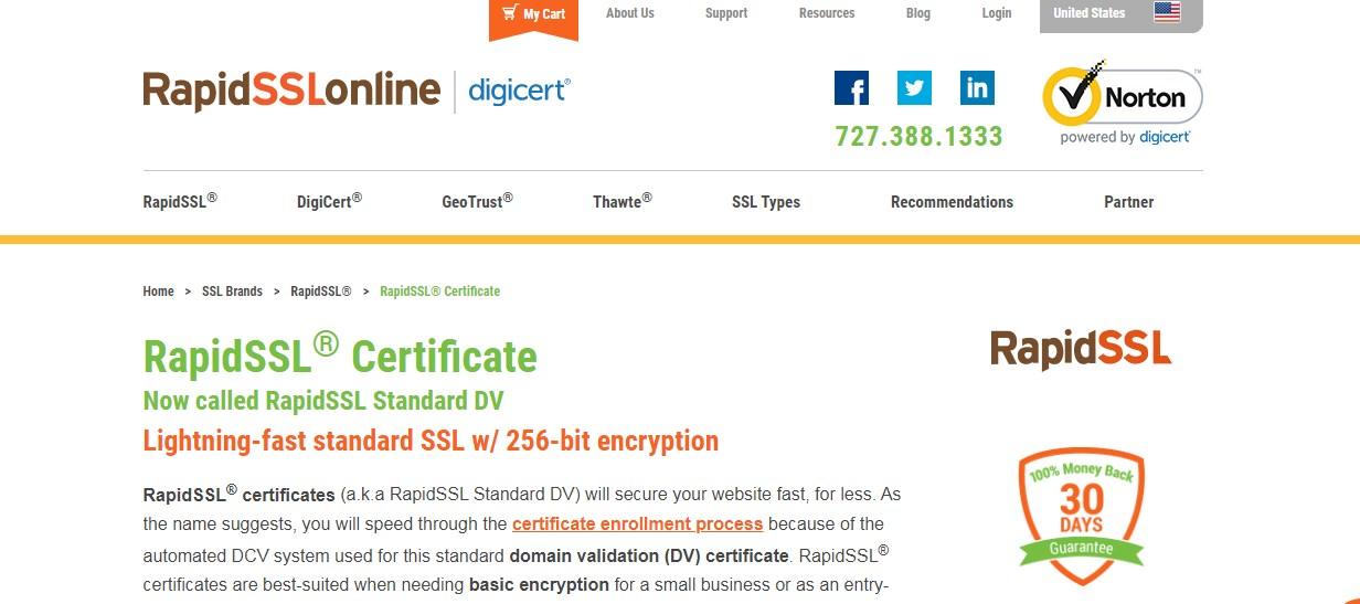 RapidSSL – Reliable SSL Certificate Provider