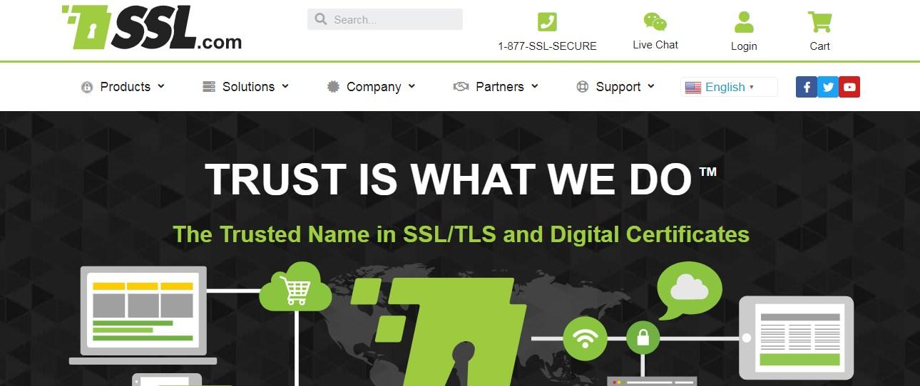 SSL.com SSL Certificate Provider