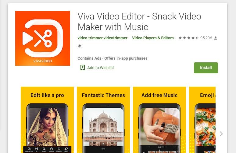 Viva Video Editor