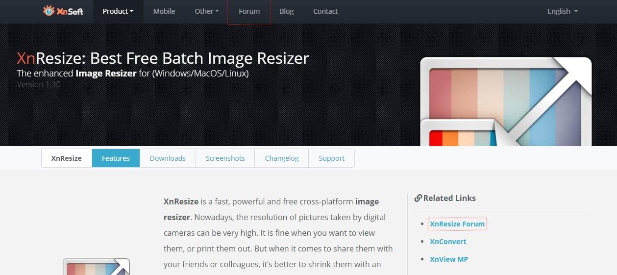 XnResize Image Resizer