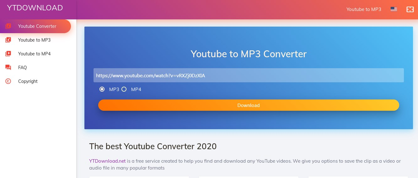 YTDownload YouTube to Mp3 Converter Online