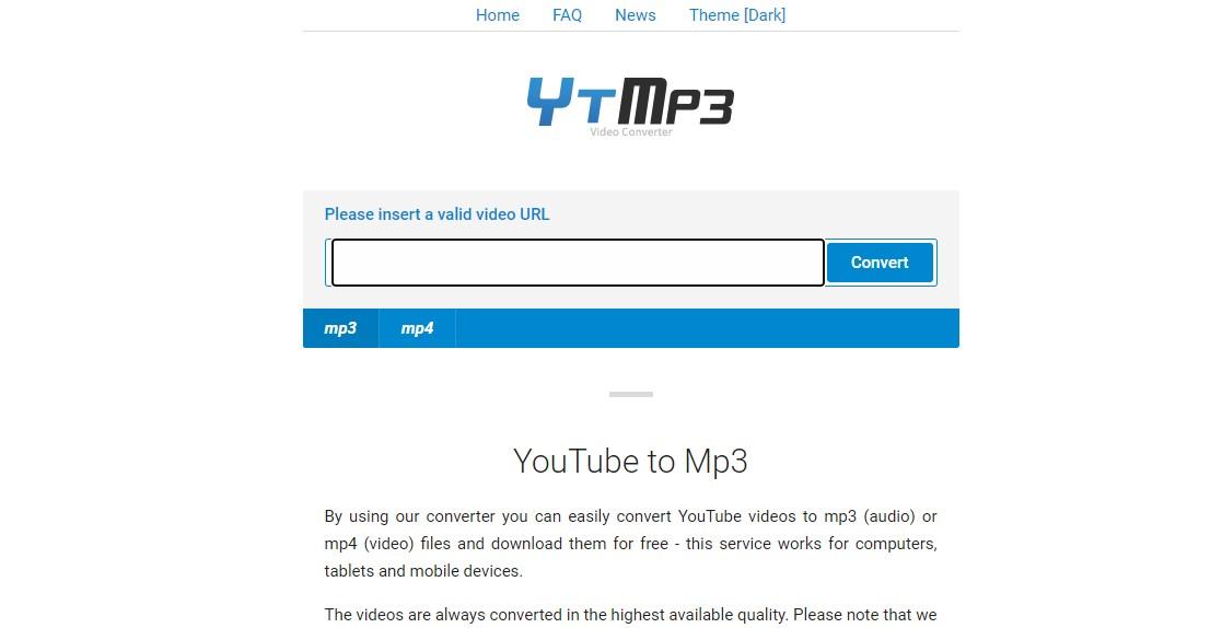 YTMP3 YouTube to Mp3 Converter Online