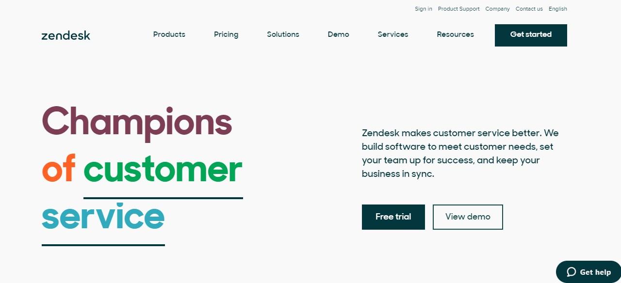 Zendesk Client Management Software
