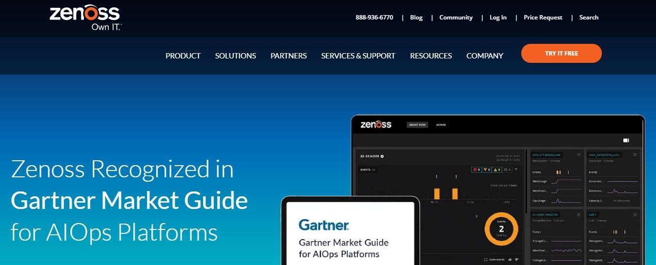 Zenoss Application Performance Monitoring Tool