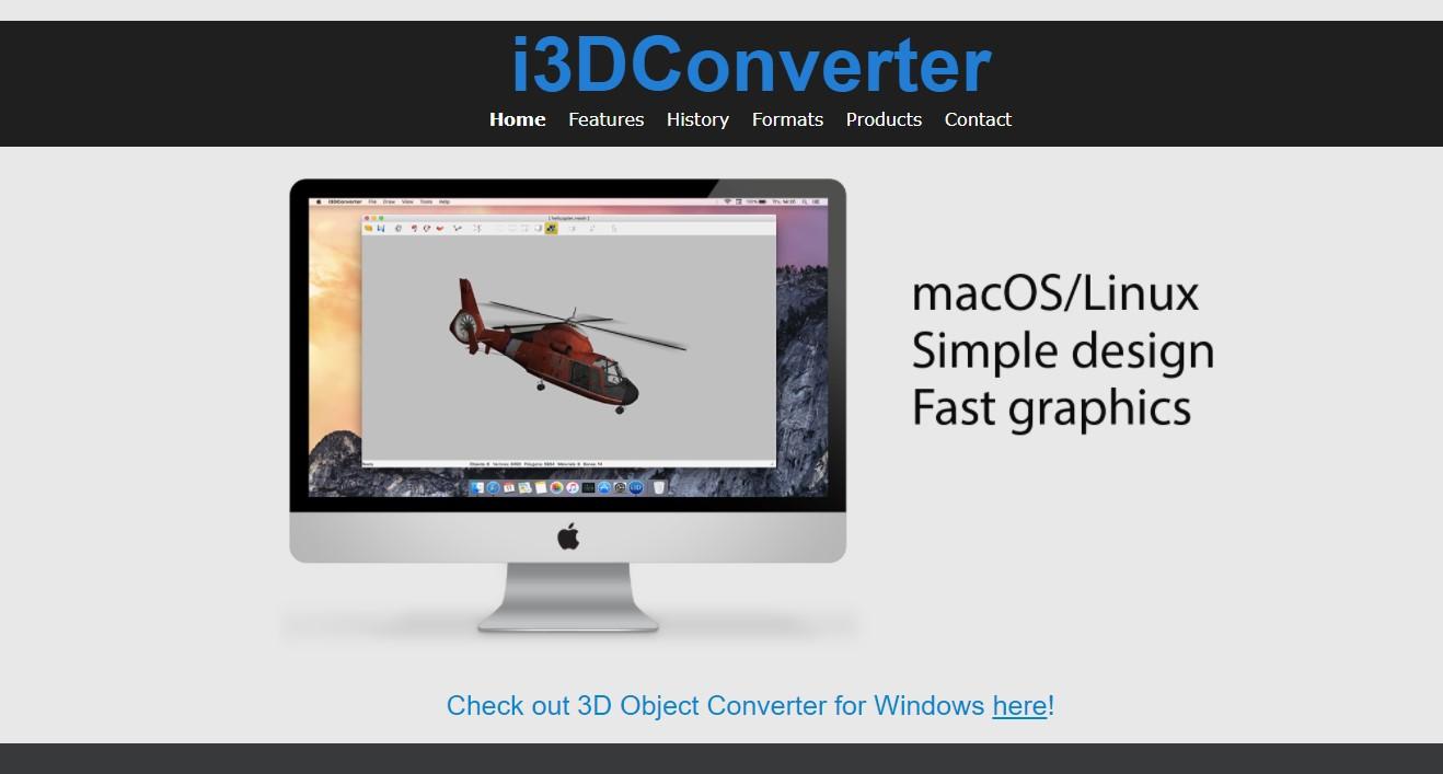 i3DCoverter 3D File Converter