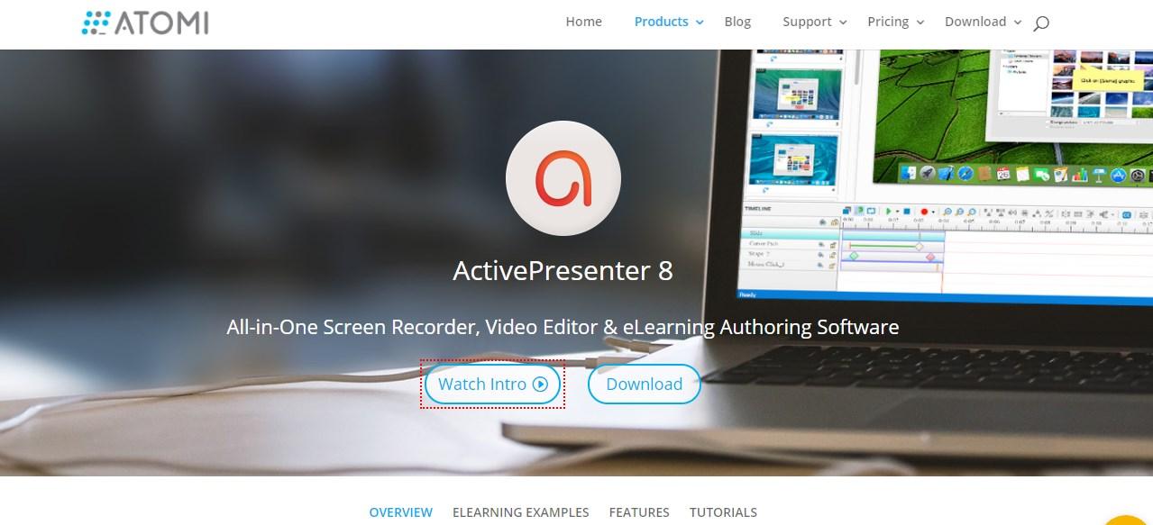 ActivePresenter Video Editing Software