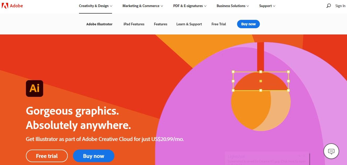Adobe Illustrator Motion Graphics Software