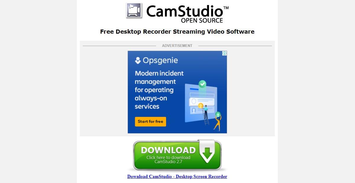 Camstudio Video Editing Software