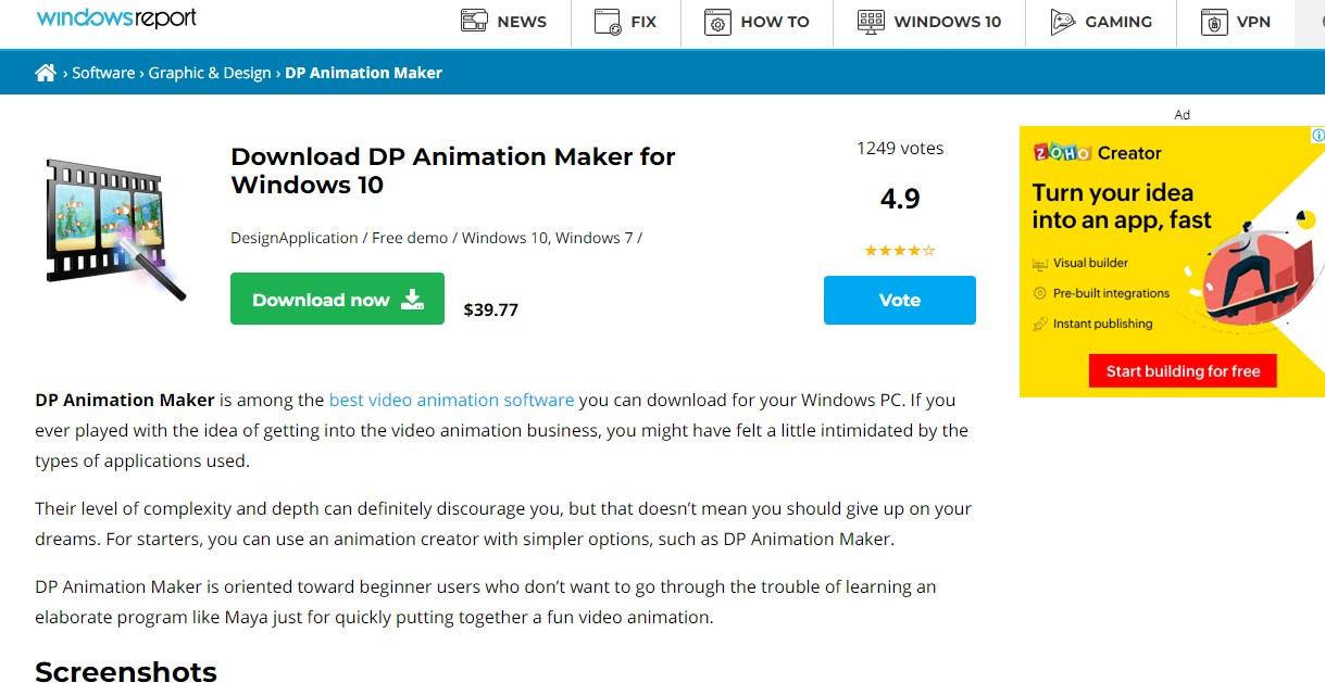 DP Animation Maker Animation Software