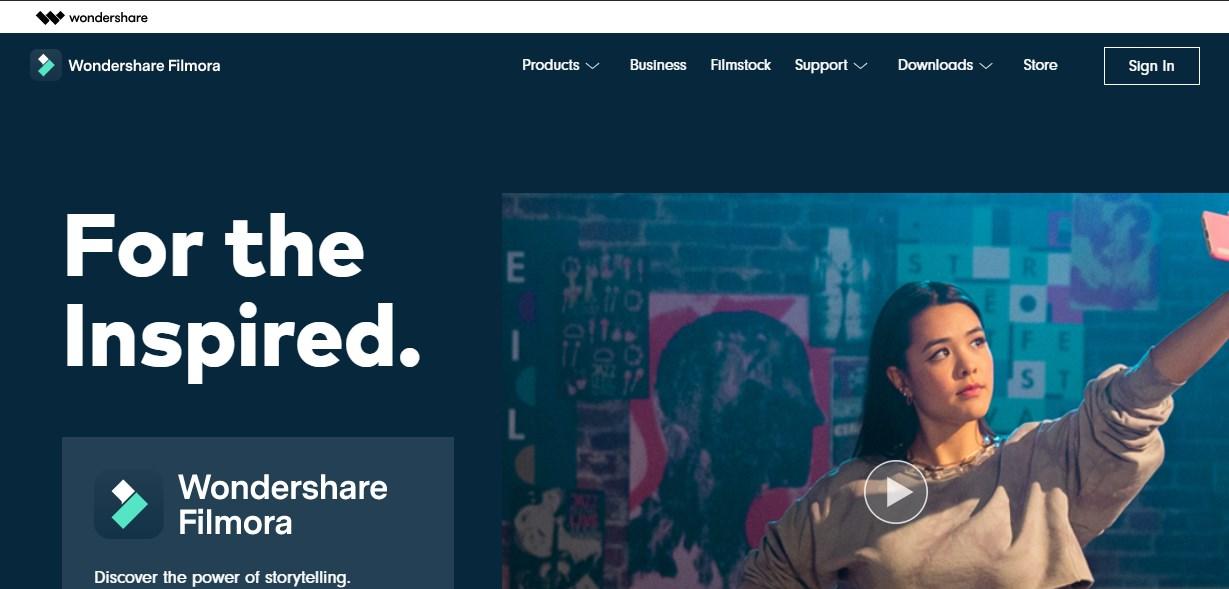 Filmora Wondershare Voiceover Software