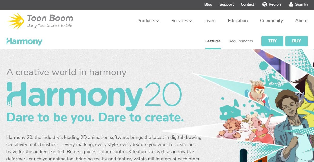 Harmony Animation Software