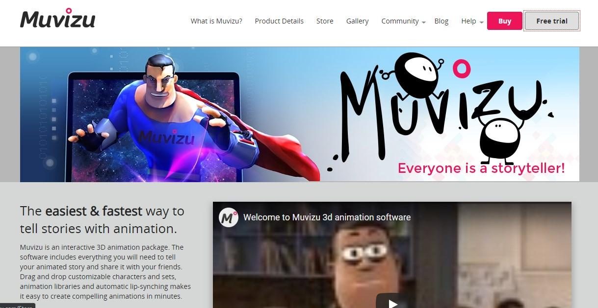 Muvizu Animation Software