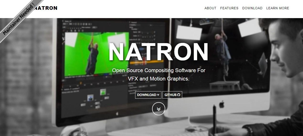 Natron Motion Graphics Software