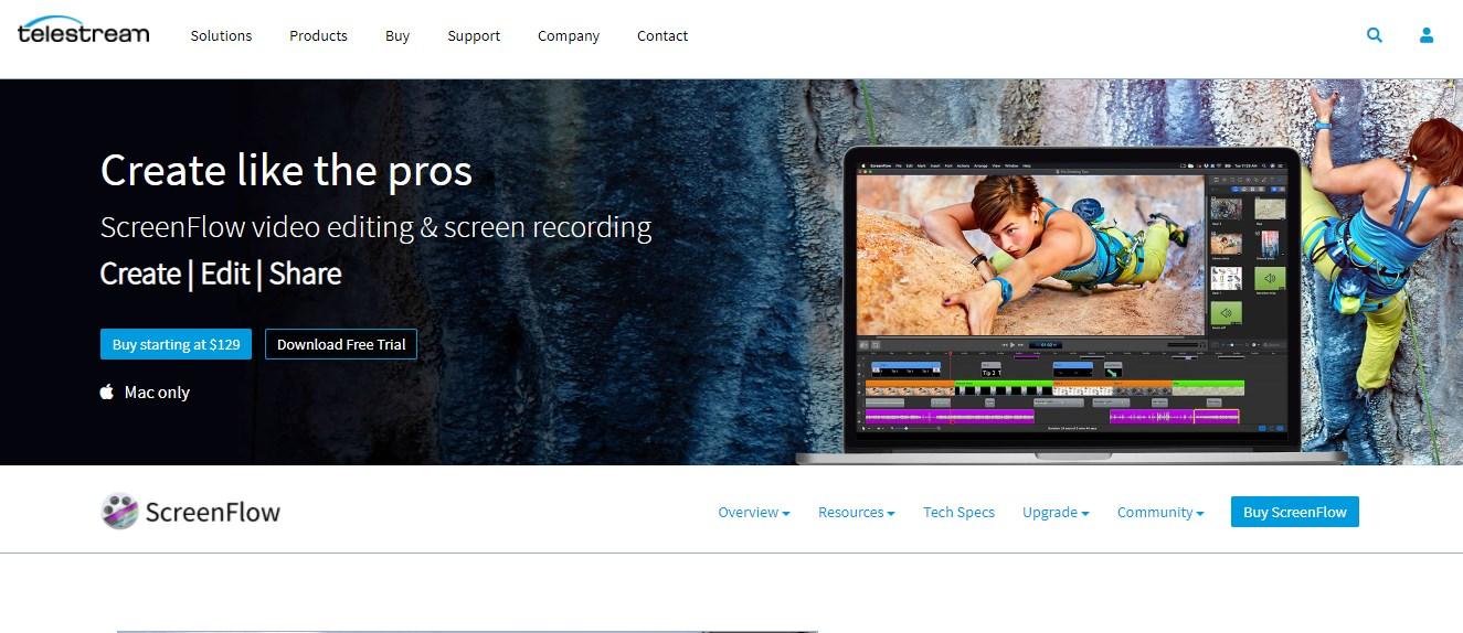 Telestream Video Editing Software